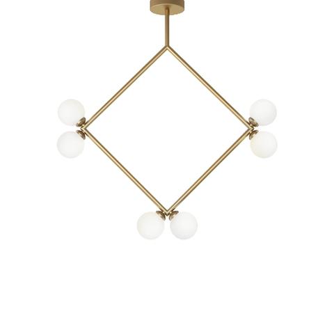 Потолочный светильник копия Rhombus by Atelier Areti (золотой)