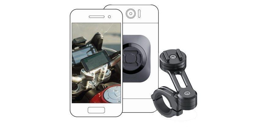 Набор универсальных креплений для смартфона на мотоцикл SP Moto Bundle Universal