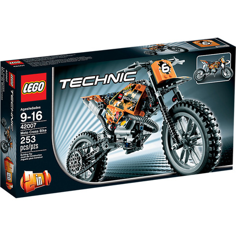 LEGO Technic: Кроссовый мотоцикл 42007 — Moto Cross Bike — Лего Техник