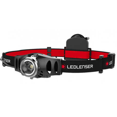 Фонарь налобный Led Lenser (500767) H3.2 черный светодиод 120lx AAAx3
