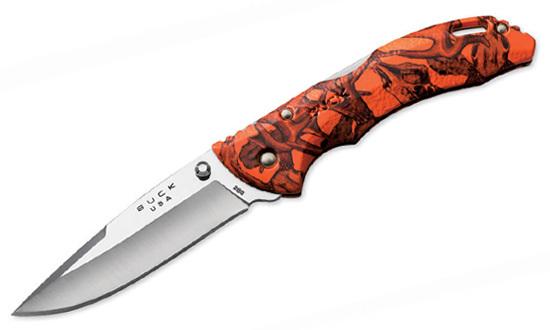 Нож BUCK модель 0286CMS12 Bantam Orange Head Hunterz