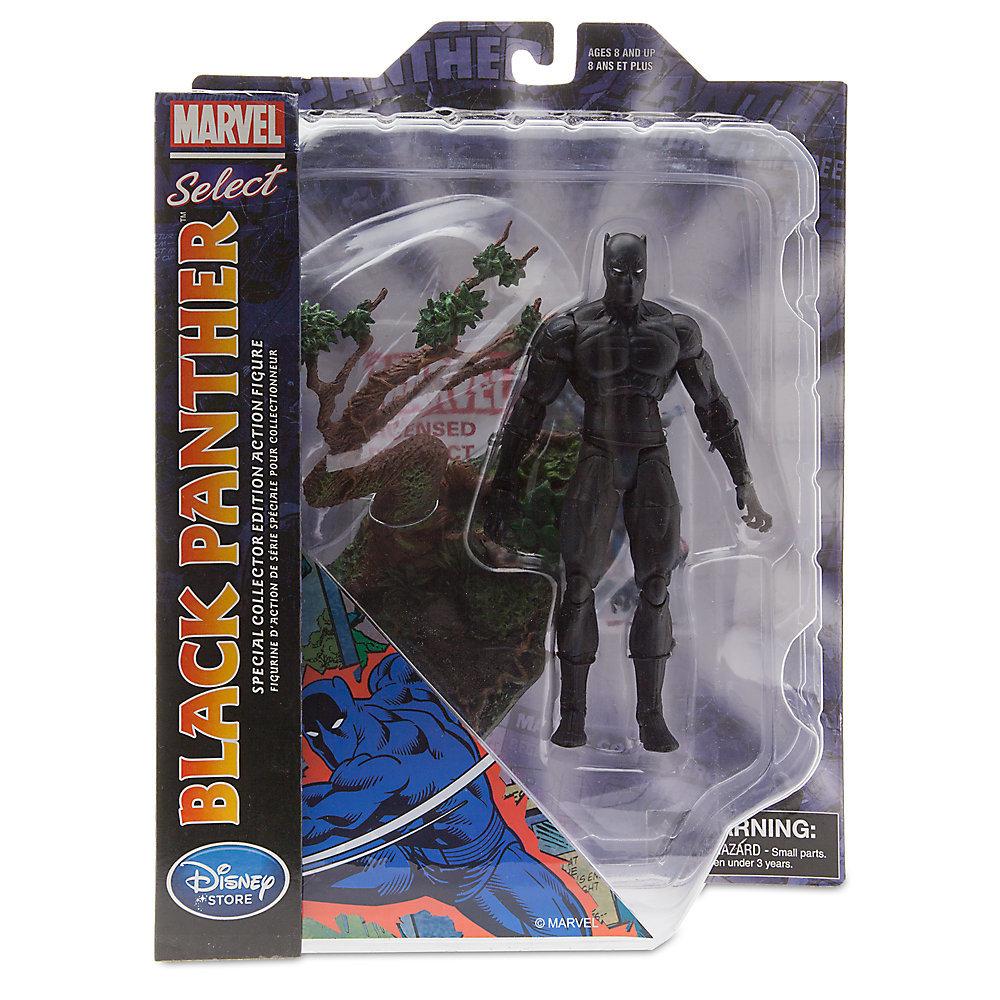 Марвел селект фигурка Черная пантера — Marvel Select Black Panther Exclusive