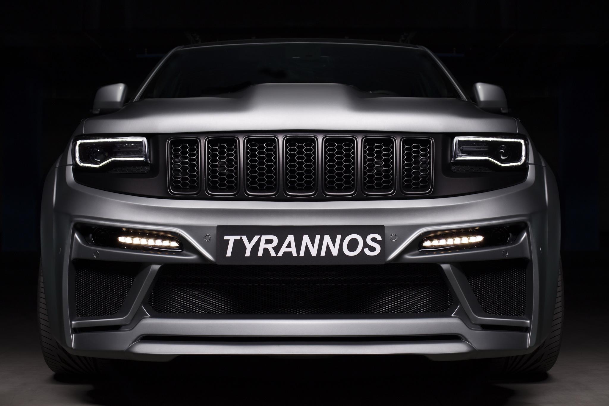 Обвес SCL PERFORMANCE Tyrannos  для Jeep Grand Cherokee