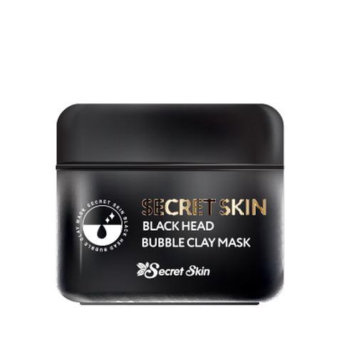 SECRET SKIN BLACK HEAD BUBBLE CLAY MASK 100мл