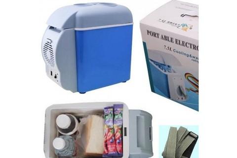 Автомобильный мини холодильник Portable Electronic Cooling & Warming Refrigerators.