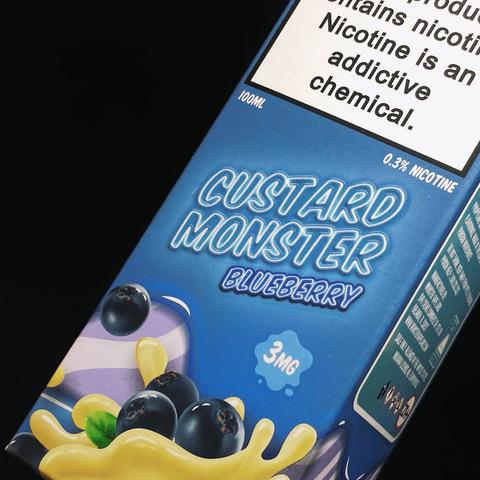 Blueberry Custard Monster