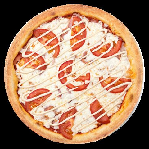 Піца з грибами і солодким перцем