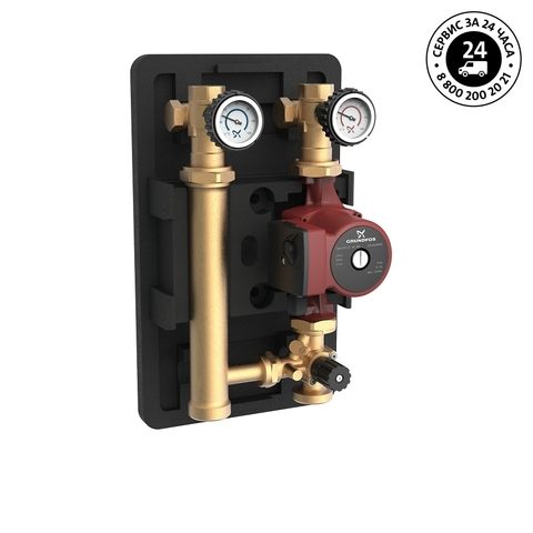 Насосная группа - Grundfos Heatmix M25 UPS 25-40 180