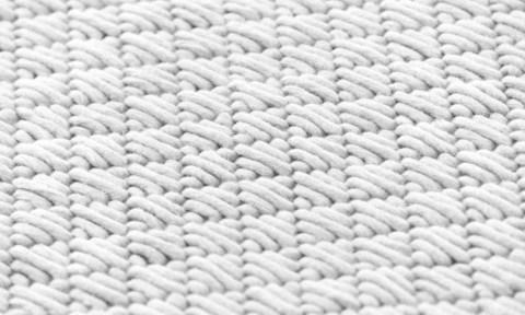 Подушка Silai Dark grey - White 60x35