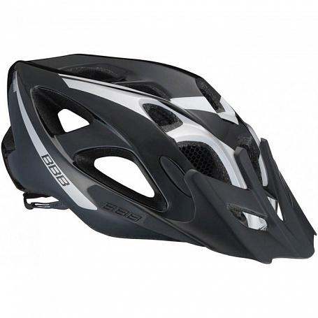 Летний шлем BBB Elbrus with visor black silver