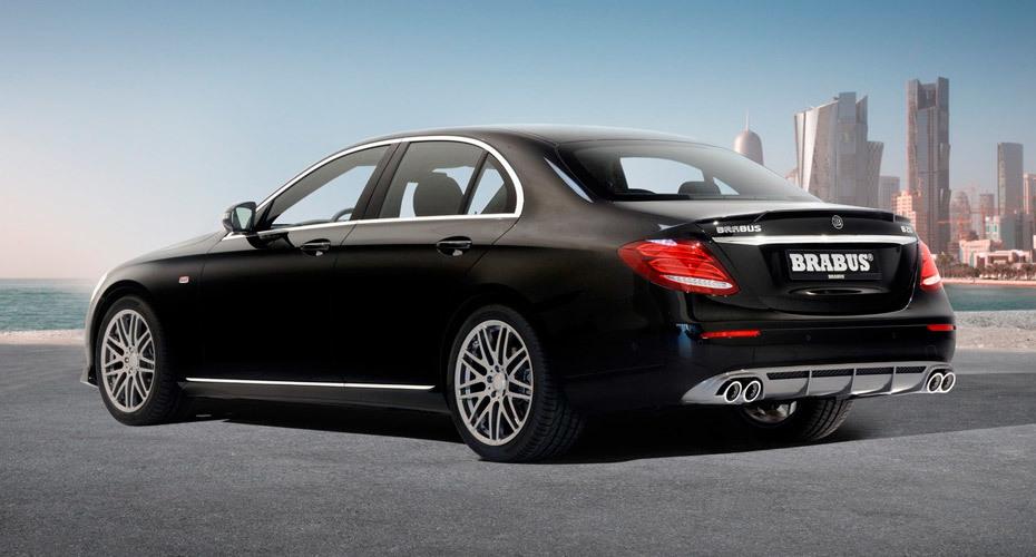 Обвес Brabus для Mercedes E W213