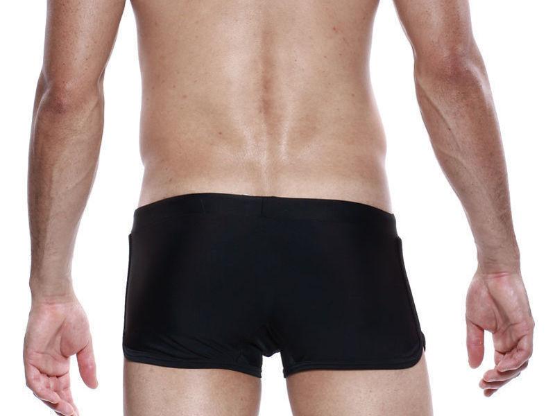 Мужские плавки боксеры Seobean Surf Swim Boxers черные