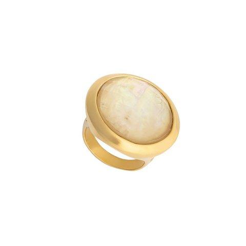 Кольцо Nautilus 16.5 K9853.12/16.5 BR/G