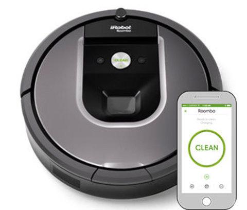 Робот пылесос iRobot Roomba 960