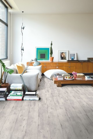 Concrete Wood light grey | Ламинат QUICK-STEP IMU1861