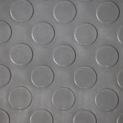 Коврик-дорожка против скольжения Пятачки, серый, 2,4 мм, 0,9*10 м