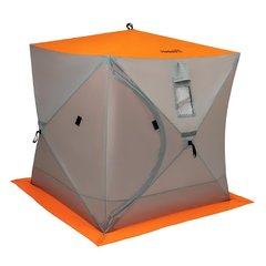 Палатка для зимней рыбалки Helios Куб 1,8х1,8 (HS-ISC-180OLG)
