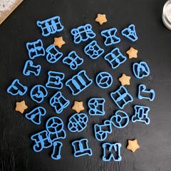 Набор форм для вырезания печенья «Русский алфавит»,30шт