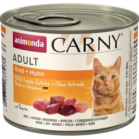 Купить консервы Animonda CARNY Adult - Beef Chicken
