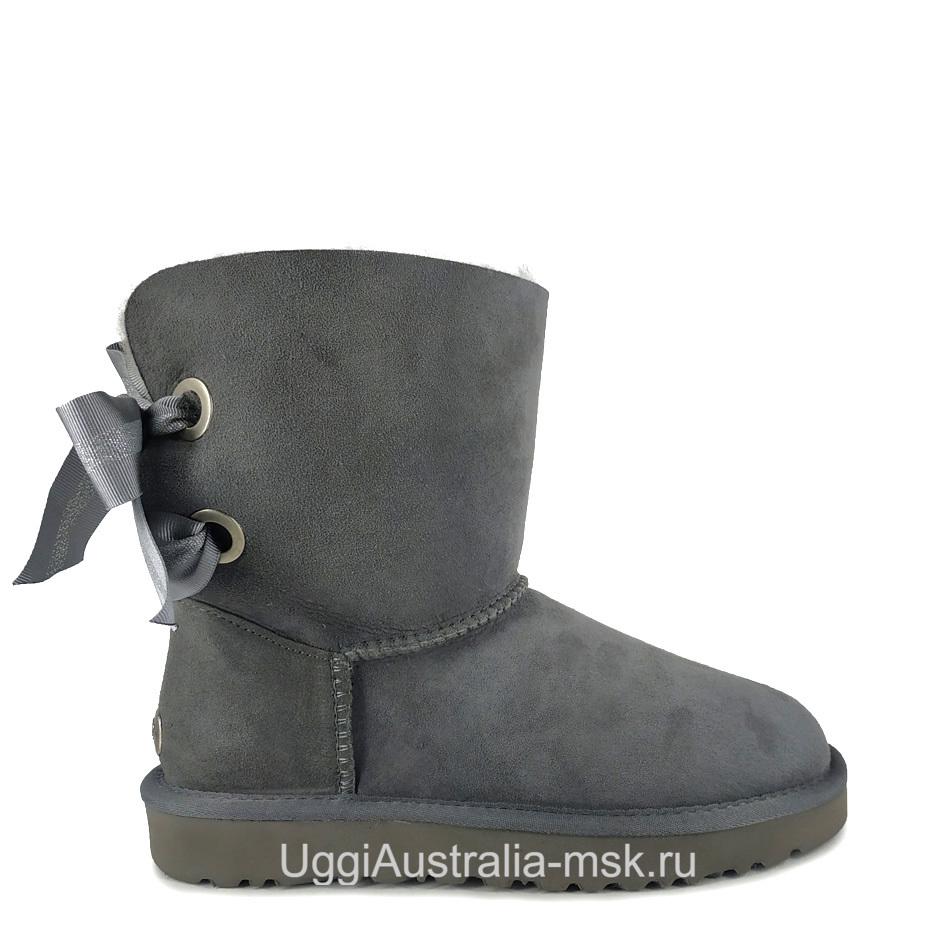UGG Bailey Bow Customizable Grey