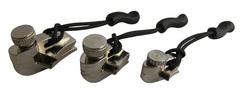 Ремонтный набор для молний, никель, 3 размера  AceCamp Zipper Repair Nickel, 3-pack