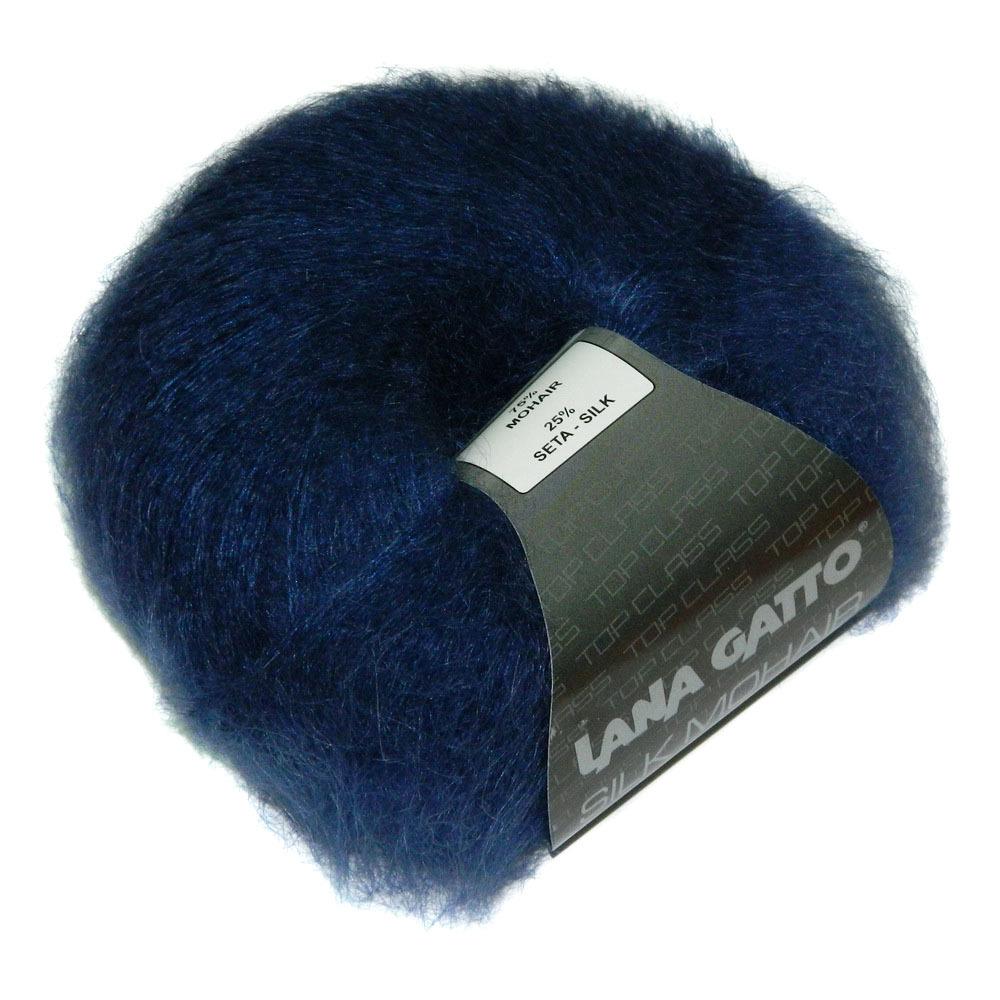 Пряжа Lana Gatto Silk Mohair 6035 синий