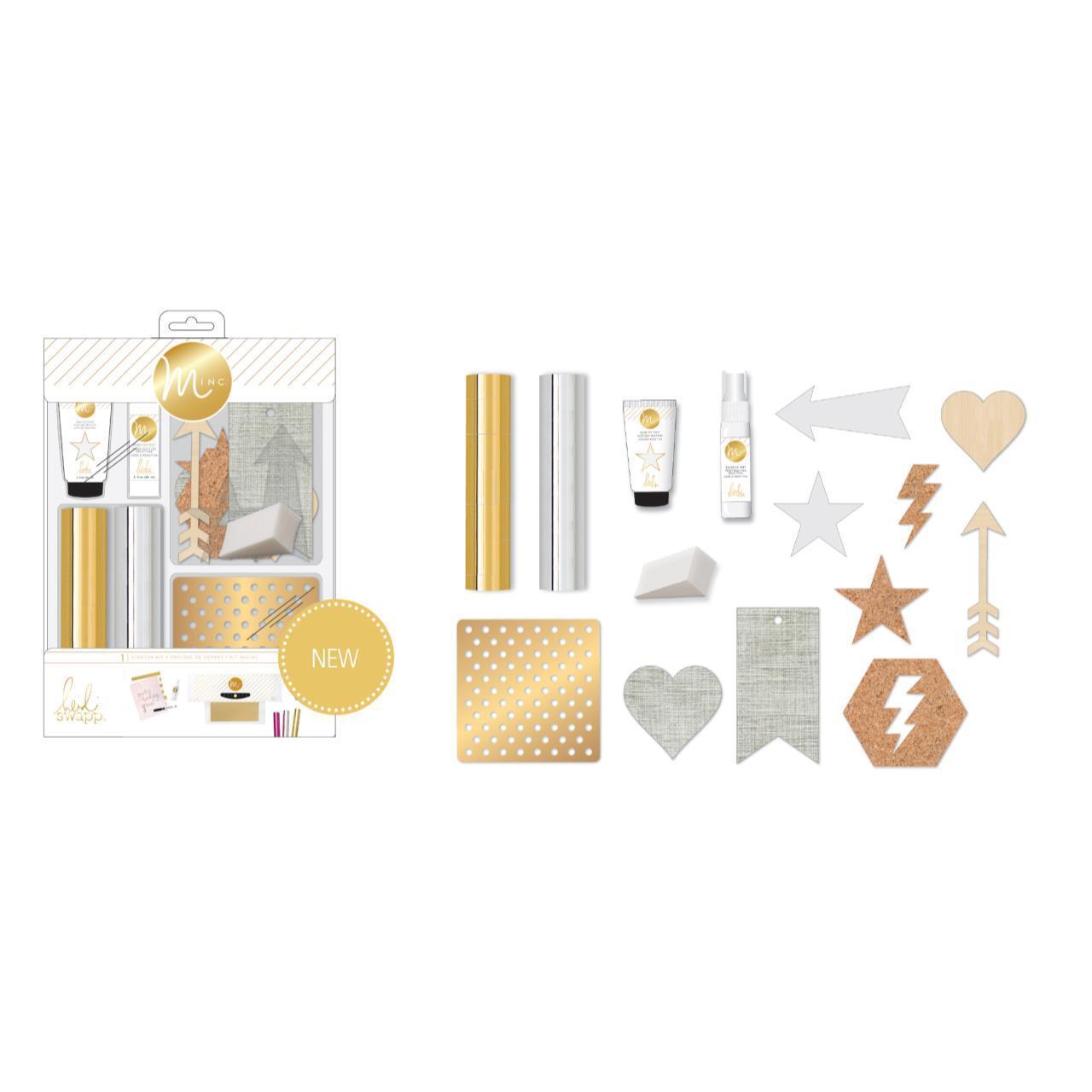 Стартовый набор для фольгирования Heidi Swapp Minc Starter Kit
