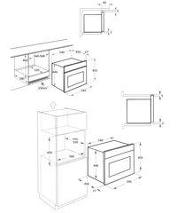 Микроволновая печь Kuppersberg RMW 969 BOR - схема