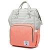 Сумка-рюкзак для Мам арт: 2106 Полоска + Красный