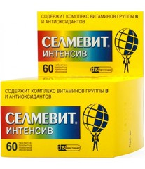 СЕЛМЕВИТ ИНТЕНСИВ N60 ТАБЛ П/О