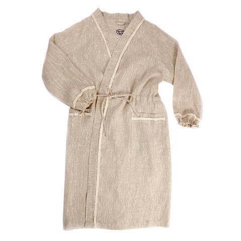 Халат для бани льняной женский ОННИ (размер 44-46)