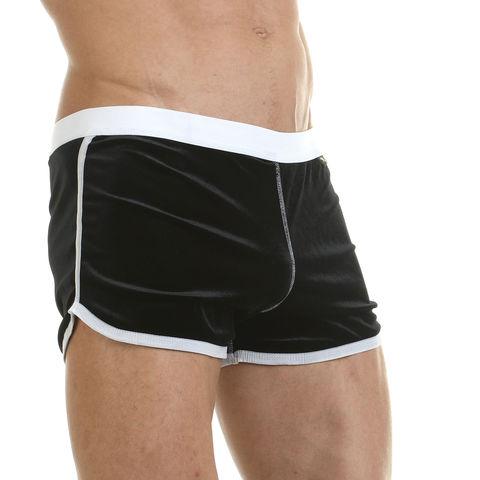 Мужские шорты домашние черные Van Baam 43013