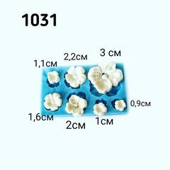 1031 Молд силиконовый. Цветы.