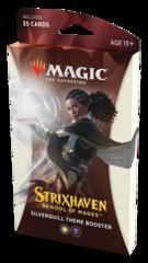 Тематический бустер выпуска «Strixhaven: School of Mages» (факультет «Silverquill»)
