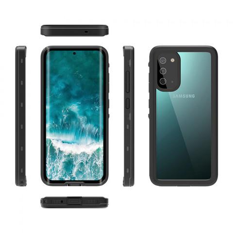 Водонепроницаемый чехол для смартфонов Apple/Samsung, Shellbox (черный)
