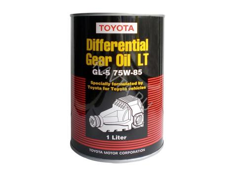 TOYOTA DIFFERENTIAL GEAR OIL LT GL-5 75W-85