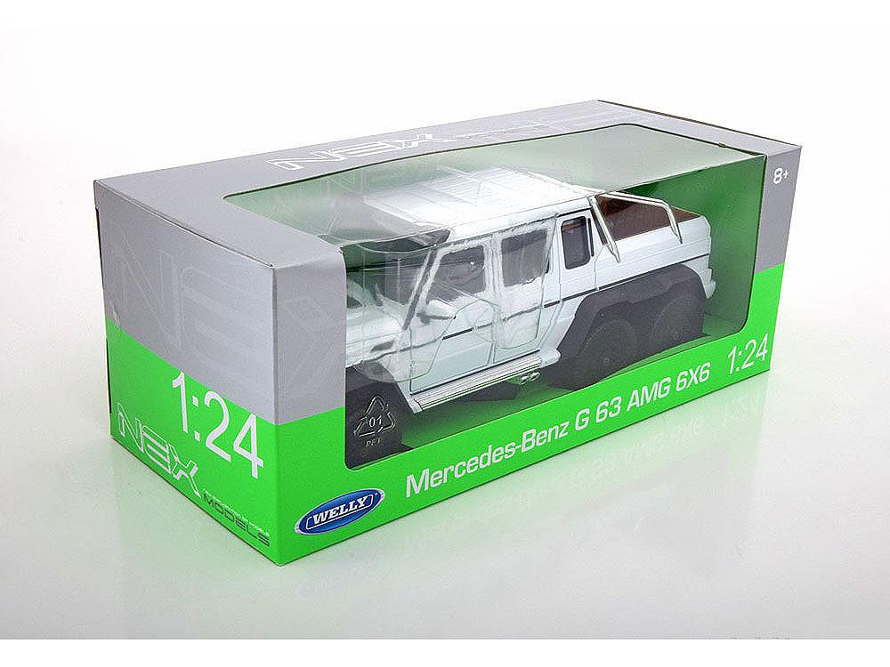 Машинка-игрушка Mercedes-Benz Gelandewagen AMG G63 6x6 2014