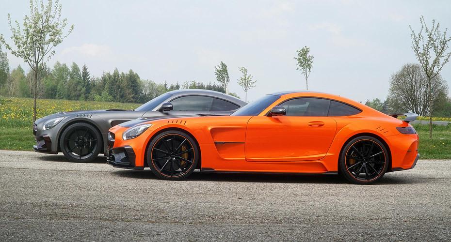 Обвес Mansory для Mercedes AMG GT