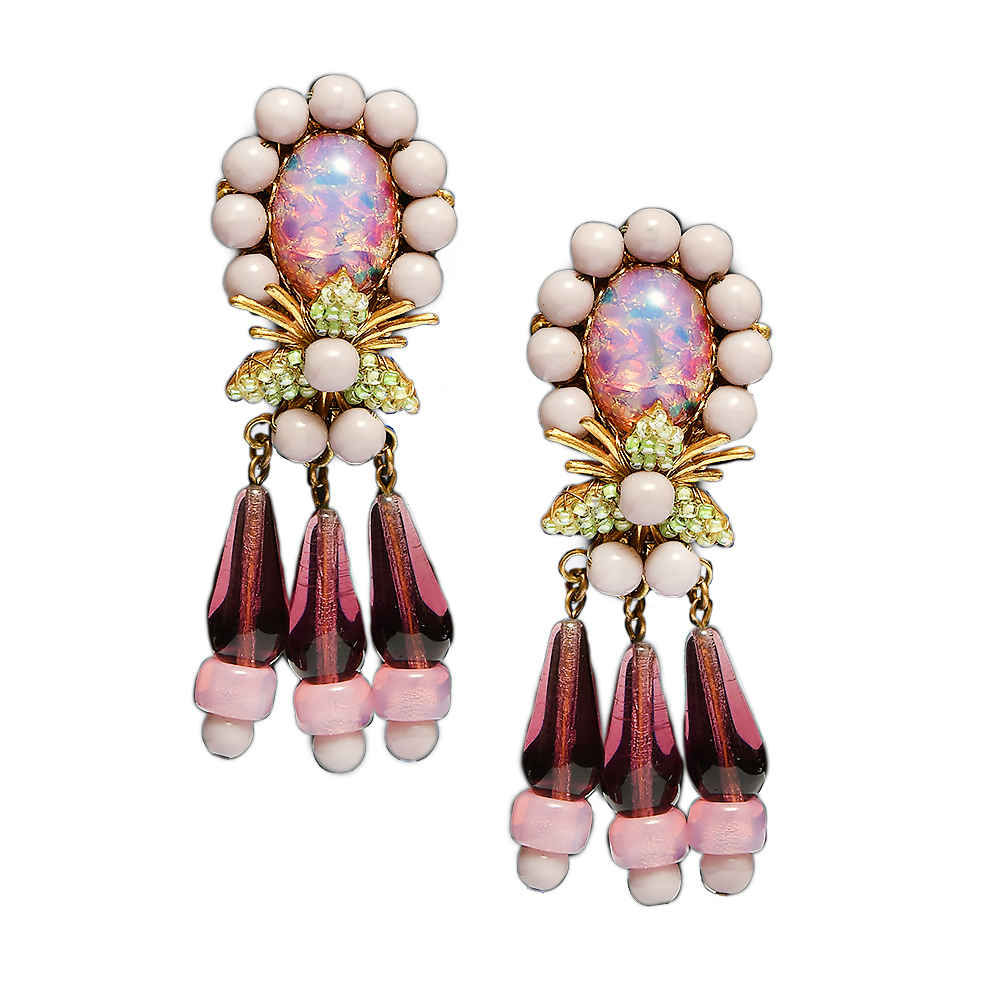 Stanley Hagler clip-on earrings