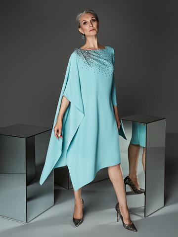 Вечернее платье коктейльное в стиле минимализм