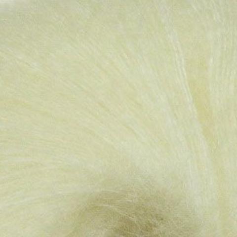 Пряжа Mohair Royal ( Мохер Роял ). Цвет: молочный. Артикул: 1650