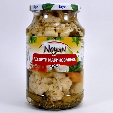 Ассорти овощей маринованное Noyan, 920г
