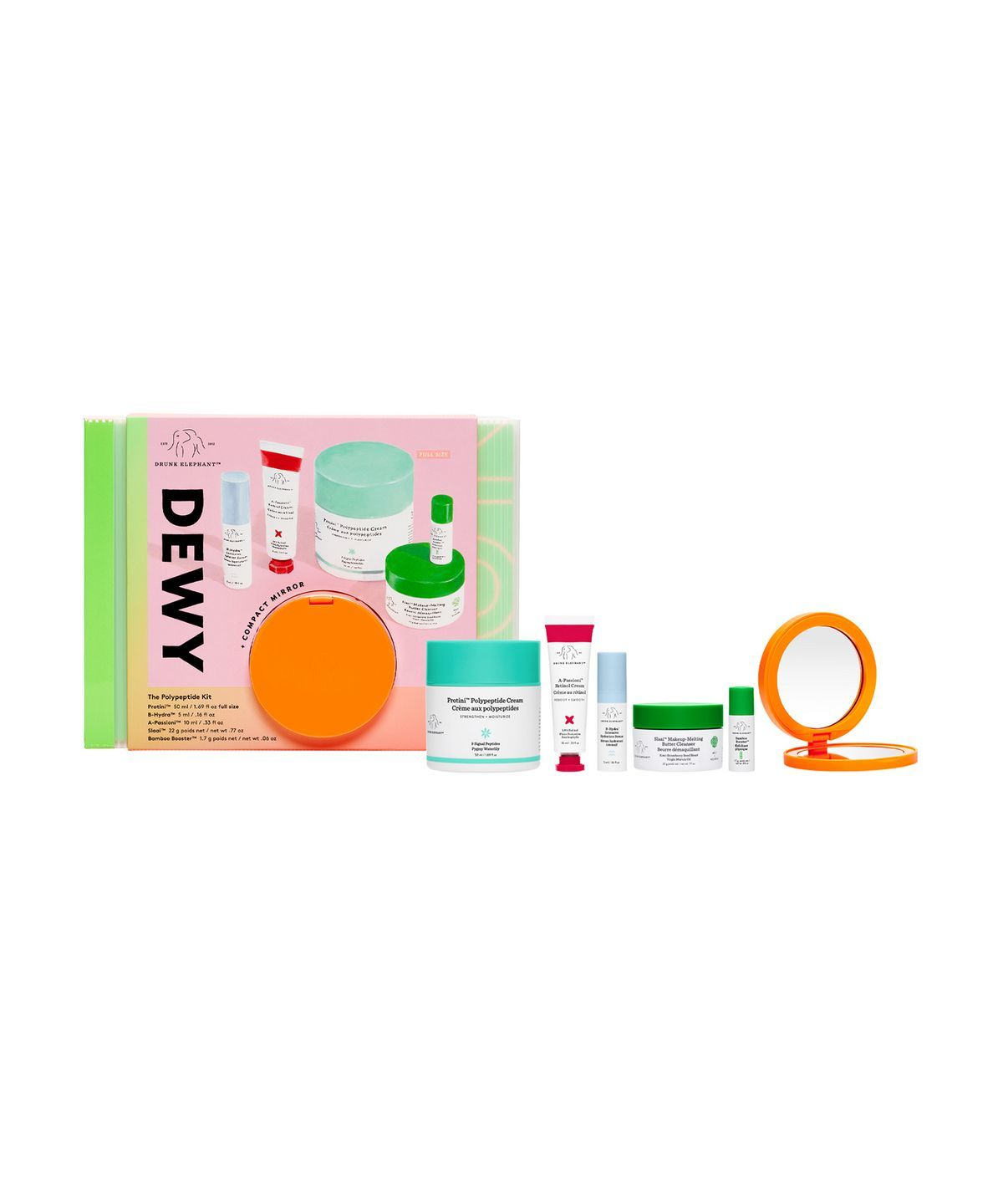 Drunk Elephant Dewy The Polypeptide Kit