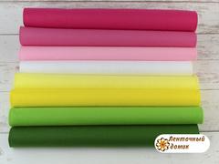 Набор корейского мягкого фетра 15*20 см № 1