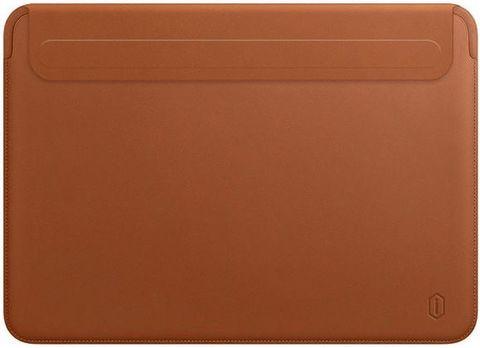 Папка конверт для MacBook New 13'' Wiwu Skin Pro2 Portable Stand /brown/