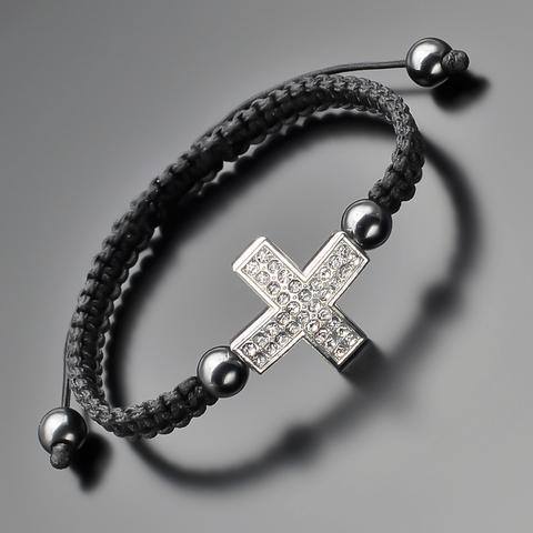 Браслет shambhala с крестом Rico La Cara AMX005141