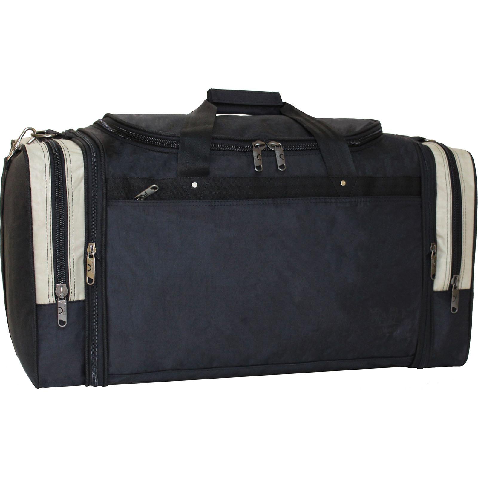Дорожные сумки Спортивная сумка Bagland Мюнхен 59 л. Черный/оливка (0032570) IMG_1229_32570_.JPG