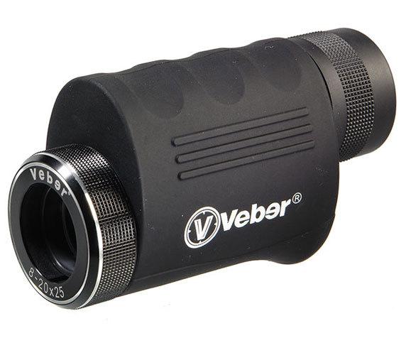 Монокуляр с переменной кратностью Veber 8-20 25