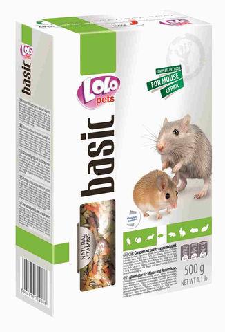 Корма для мышей, песчанок и крыс