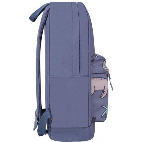 Рюкзак Bagland Молодежный W/R 17 л. Серый 769 (00533662)